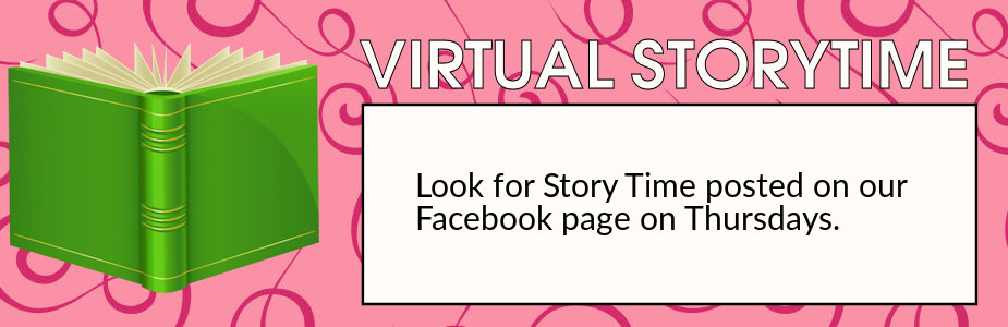 Virtual story time on facebook.
