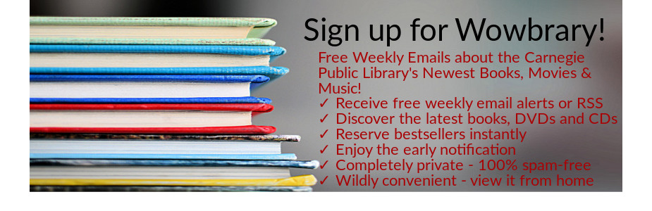 pile of books Sign up for Wowbrary